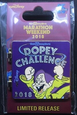 Walt Disney World Marathon Weekend 2018 25 Dopey Challenge 48.6 mi Pin RunDisney