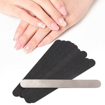 10PCS Nail Sanding Polishing File Buffer Shiner Manicure Finger Pedicure Tool