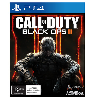 Call of Duty Black Ops 3 III PS4 Sony PlayStation 4 New Sealed AU