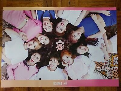 Twice - TT (3rd Mini Album) B Ver. Unfolded Poster HARD TUBE CASE