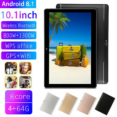"""10.1"""" Tablet PC Android 8.1 4G+64G Octa Core Dual SIM Camera Wifi Phone Phablet"""