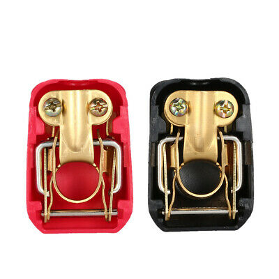 2X Pratical 12V Quick Release Car Battery Terminals Clamps Connector Clamps Z2S7