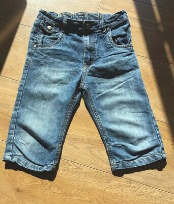 Tu Great Quality 8 Years Old  Denim Shorts Cropped Trousers Boys