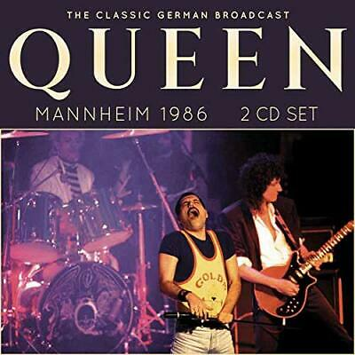 QUEEN 'MANNHEIM 1986' (The Classic German Broadcast) 2 CD Set (30th Aug. 2019)