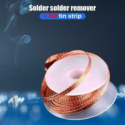 3.5mm*1.5M Desoldering Braid Solder Remover Wick Wire Repair Low Residue Supply
