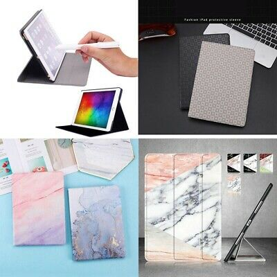 Marble Smart Flip Case Cover For iPad Mini Air 4 3 2 4th 6th Generation 9.7 2018