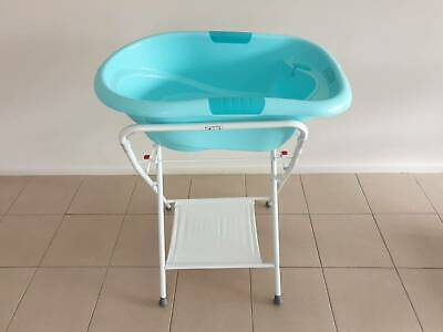 ROGER ARMSTRONG OASIS BATH BLUE Bath Tub with Stand