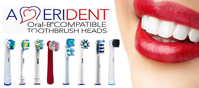 Oral B Compatible Electric Toothbrush Heads 4-24 Tooth Brush Head - Free P&P UK