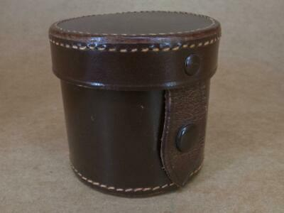 Leather Lens Case 50mm x 55mm (internal) in great condition
