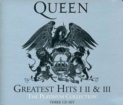 Queen Greatest Hits I II & III The Platinum Collection. New & sealed. Free post