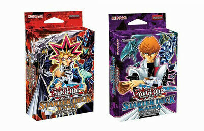 Yu-Gi-Oh! Yugi & Kaiba Reloaded Starter Decks Twin Pack (One of each!)