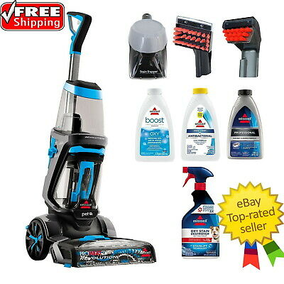 Bissell ProHeat 2X Revolution Pet Full Size Carpet Cleaner, 1550V FREE SHIPPING