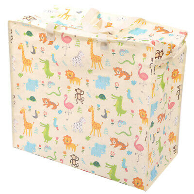 Fun Practical Laundry  and  Storage Bag - Zoo Design