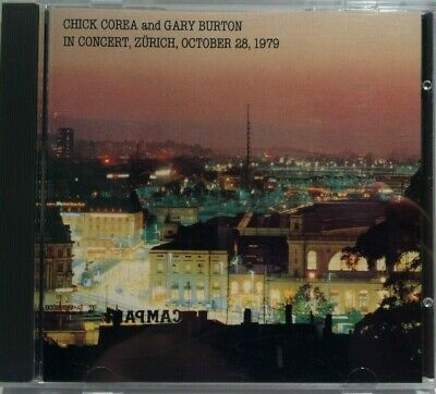 Chick Corea and Gary Burton in Concert, Zurich, October 28, 1979 (CD, 1980)