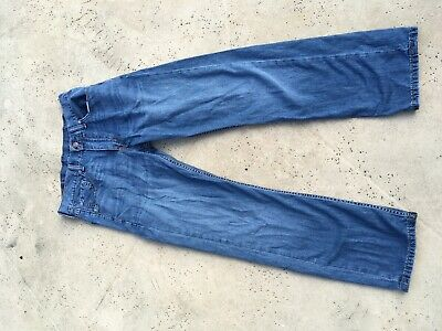 Levis 505 size 30x30 straight fit 100% cotton mens boys jeans great fading