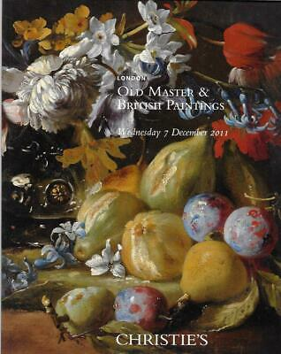 Christie's 8008 Old Master & British Paintings London Auction Catalog 2011