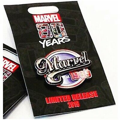 D23 Pin Marvel 1939 80 Years 2019 *D23 Expo Exclusive*