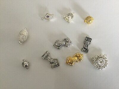 Set Of 10 Magnetic Clasps (4)