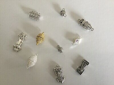 Set Of 10 Magnetic Clasps (5)