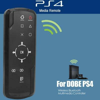 For Sony Playstation 4 PS4 Bluray Media DVD Bluetooth Wireless Remote Controller