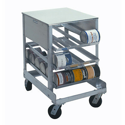 Half-Size Can Rack Capacity #10 Cans: 54 Capacity #5 Cans: 96