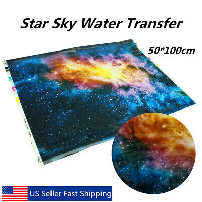 Hydrographic Film Star Universe W7Y7 Hydro Dipping Water Transfer Printing