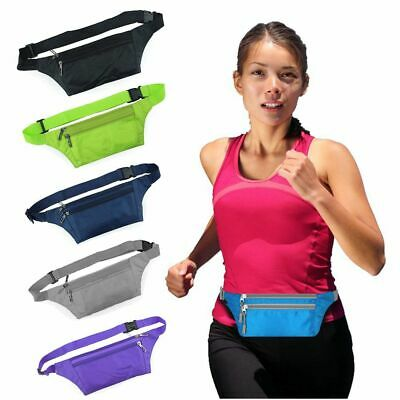 Sports Waist Belt Bum Bag Jogging Running Travel Pouch Keys Mobile Money Unisex