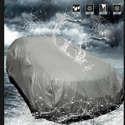 Full Car Cover UV Protection Waterproof Outdoor Breathable Small Size S Op