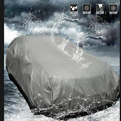 Full Car Cover UV Protection Waterproof Outdoor Breathable Small Size S Qq