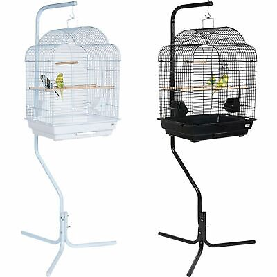 Pet Ting Primerose Large Bird Cage with Stand Canary Budgie Cockatiel Parrot