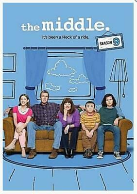 The Middle: THE COMPLETE SEASON 9 DVD (3 DVD DISCS) NEW! USA SELLER