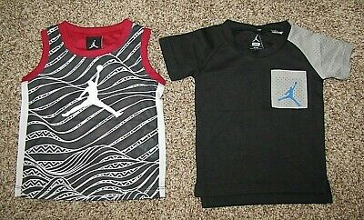 Air Jordan Boy's Shirt Lot 18 Months Short Sleeve Sleeveless