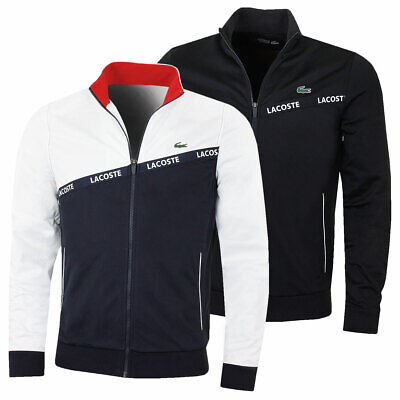Lacoste Mens 2019 Run Resistant Full Zip Stand Up Collar Technical Jacket