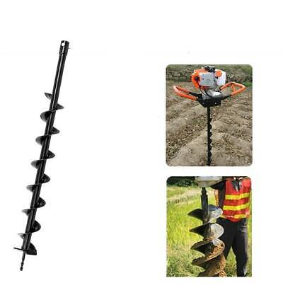 Hole Earth Garden Gate Manual Auger Drill Post Digger Tool Soil Fence Hand