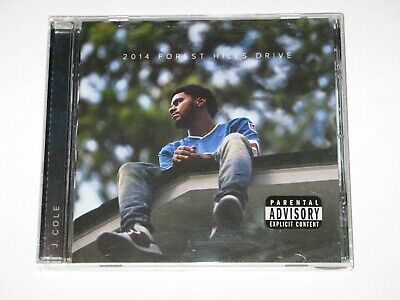 2014 Forest Hills Drive by J. Cole CD (c) Dec 2014 Roc Nation Columbia Records