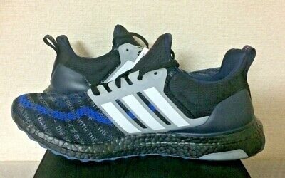 ADIDAS ULTRA BOOST Seoul City Mens Running Shoes Black Navy