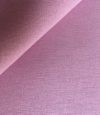 Orchid Pink  Brittney Lugana 28 Count Zweigart even weave fabric size options