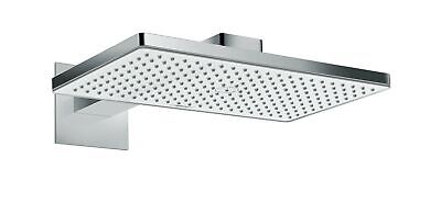 hansgrohe Rainmaker Select 460 overhead shower with 460 mm shower arm, whit... .