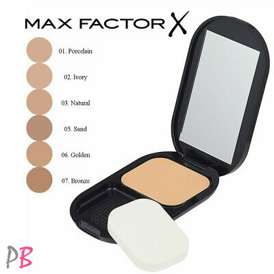 Max Factor Facefinity Compact Foundation Lightweight & Matte NEW 10g Coverage