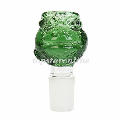 18mm Male Tortoise Design Glass Slide Bowl Free Screens USA Fast Free Shipping