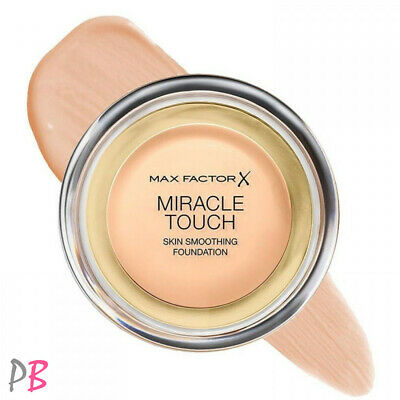 Max Factor Miracle Touch Foundation Long Lasting Coverage Shades