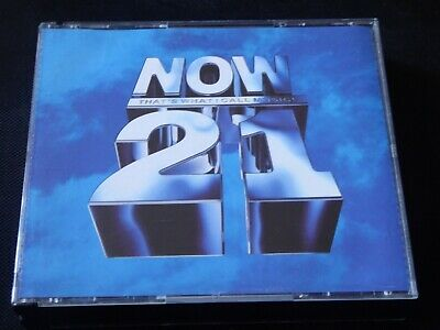 Various - Now That's What I Call Music ! 21 CD QUEEN GENESIS ROXETTE KYLIE CURE
