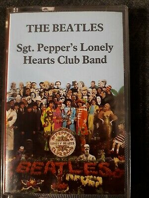 The Beatles - Sgt Pepper's Lonely Hearts Club Band - Cassette Tape - TC-PCS 7027