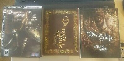 Demon's Souls -- Deluxe Edition (Sony PlayStation 3, 2009) PS3 Complete