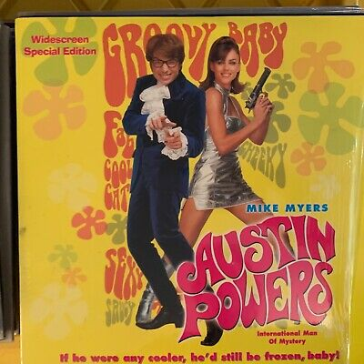 "Austin Powers - 12"" Laserdisc Buy 6 for free shipping"