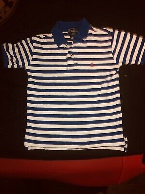 NWOT Unisex Boy Girl Toddler Polo By Ralph Lauren S/S Polo Top Tee Shirt Size 4t