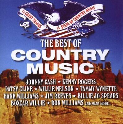 Various Artists - The Best of Country Music - Various Artists CD N9VG The Cheap