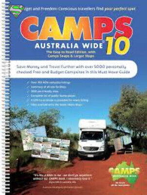 Hema Camps 10 spiral easy to read (B4) with Camp Snaps