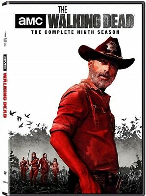 THE WALKING DEAD 9 (2018-2019): Zombie Action TV Season Series NEW US R1 DVD