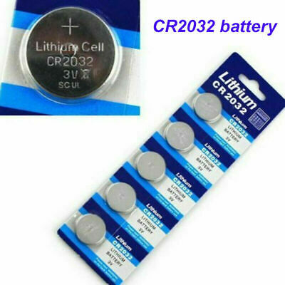 5X Cr2032 3V Button Coin Battery Made In China Expires: 12/2024